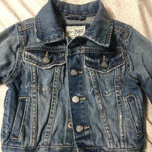 GAP Jeans Jacket 12-18 months
